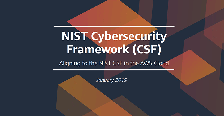 Aligning to the NIST CSF in the AWS Cloud