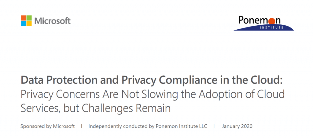 Data Protection and Privacy Compliance in the Cloud
