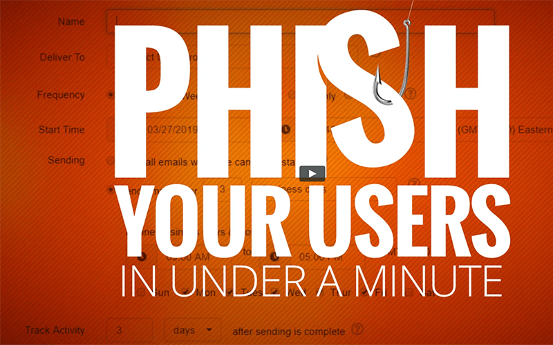 Phish Your User In Under a Minute | Email Defense