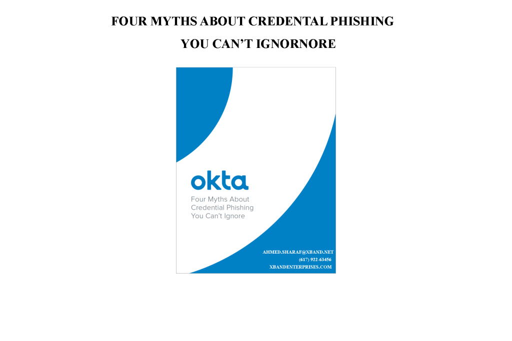 Four Myths About Credential Phishing You Can't Ignore