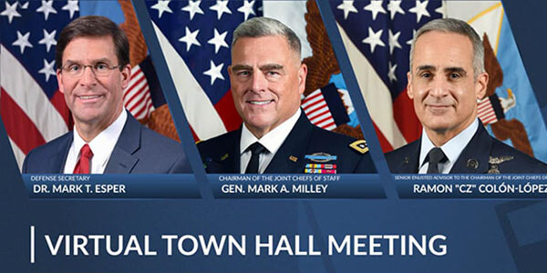 Joint Chiefs sof Staff Virtual Town Hall