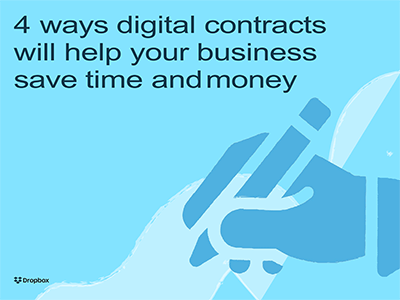 4 ways digital contracts will help your business save time and money